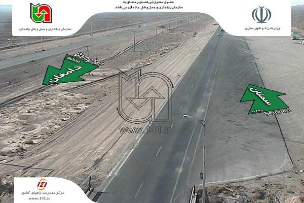 جاده های خلوت منتهی به مشهد/مسافران در راه بازگشت+تصاویر