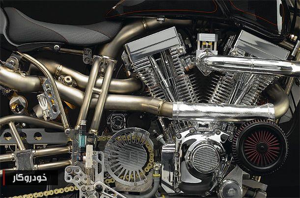 گرانترین موتورسیکلت جهان را بشناسید+ تصاویر