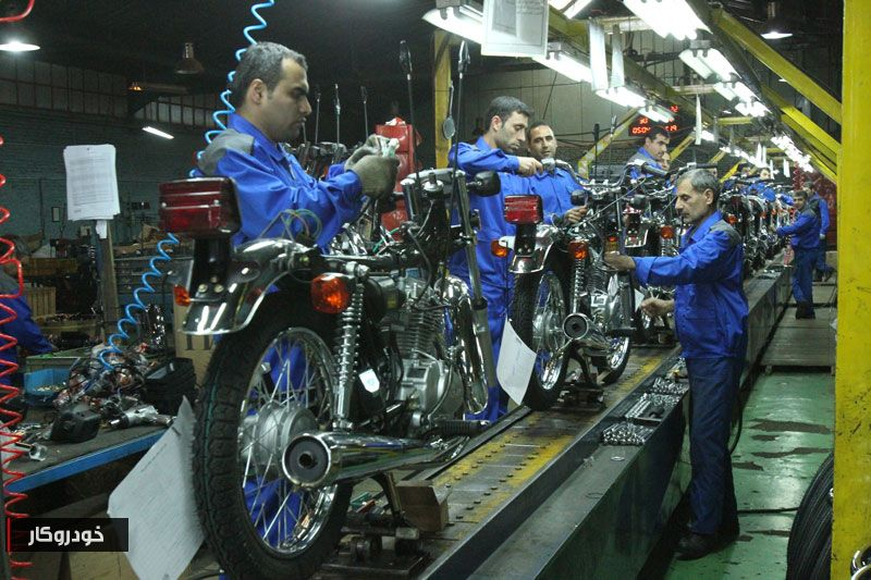 موتورسیکلتسازی ایران حامی پروژهای شکست خورده