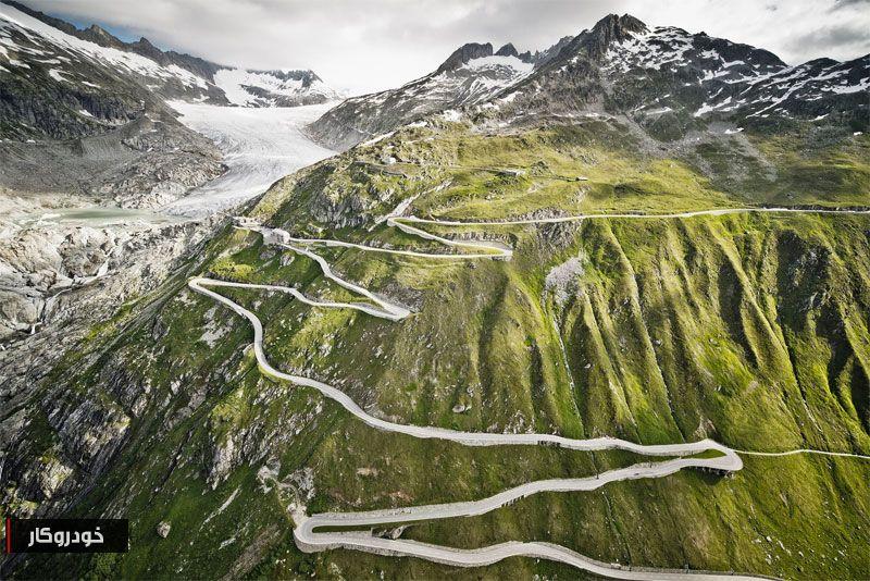 نفسگیرترین جادههای جهان + تصاویر