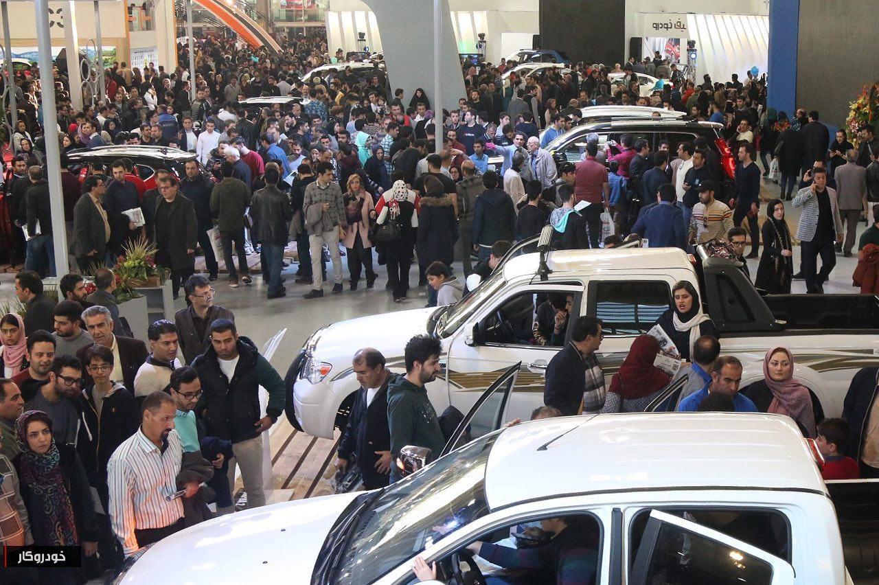 استقبال چشم گیر مردم از قصر باشکوه «گروه بهمن» + تصاویر